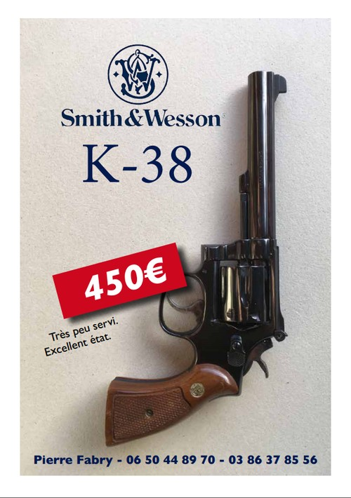2018 07 11 revolver smith et wesson K38